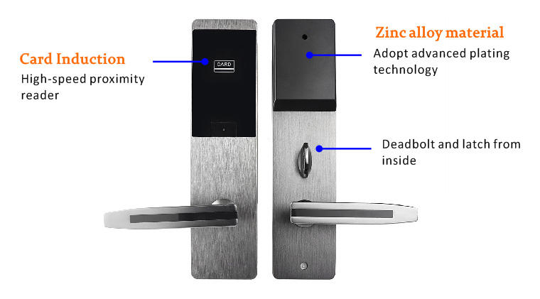 Eversunny smart card lock with central management control system for hotel