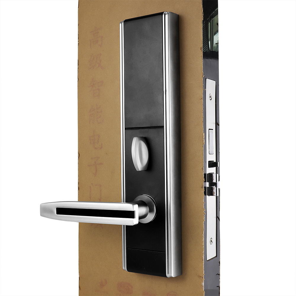 Intelligent  Hotel Door Lock Waterproof Zinc alloy Surface KB828