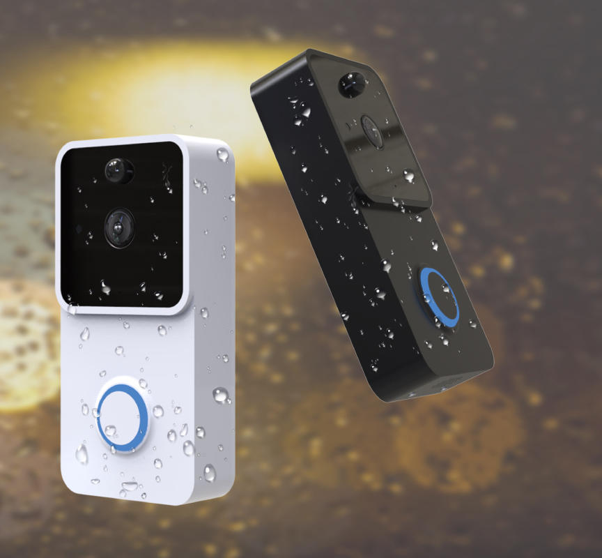 smart wi fi enabled video doorbell doorbell energy-saving for apartment