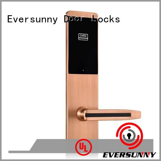 Eversunny convenient rfid card door lock energy-saving for home
