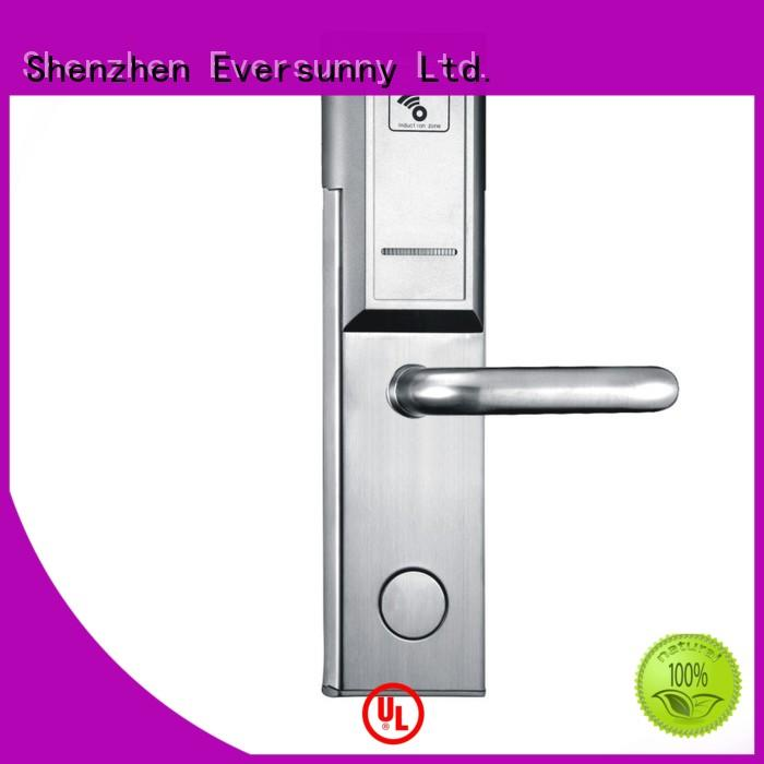 safe keycard lock with central management control system for hotel