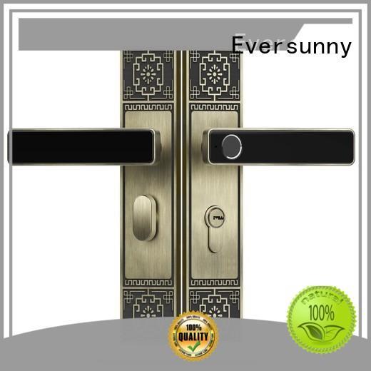 Eversunny fingerprint lock system good quality for residence