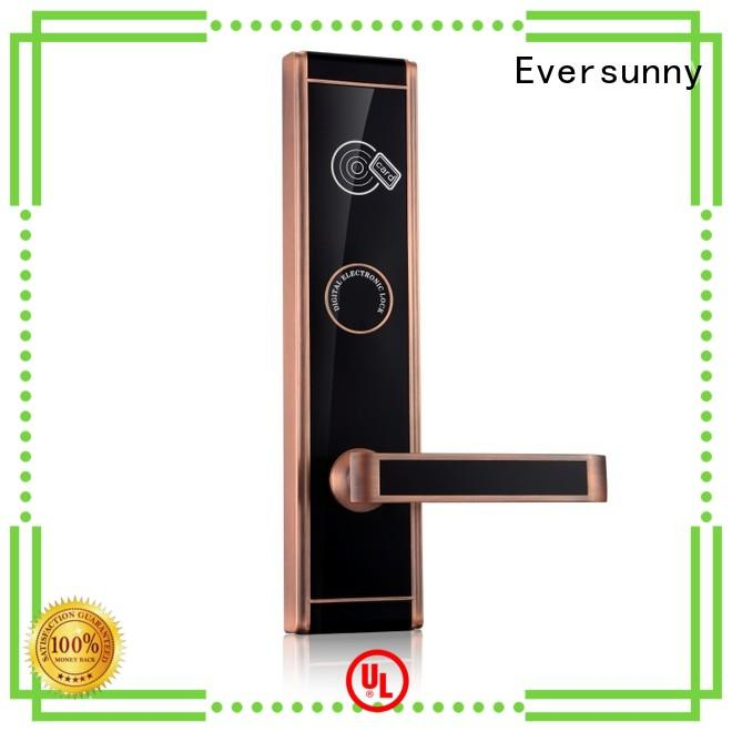 Eversunny convenient card lock with central management control system for apartment