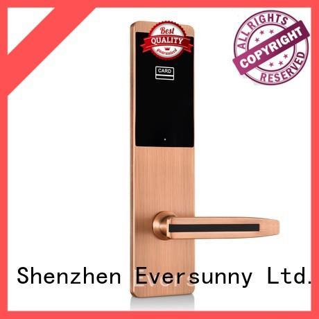 Hotel door lock Ultra-thin design multiple colors for wooden door KB825