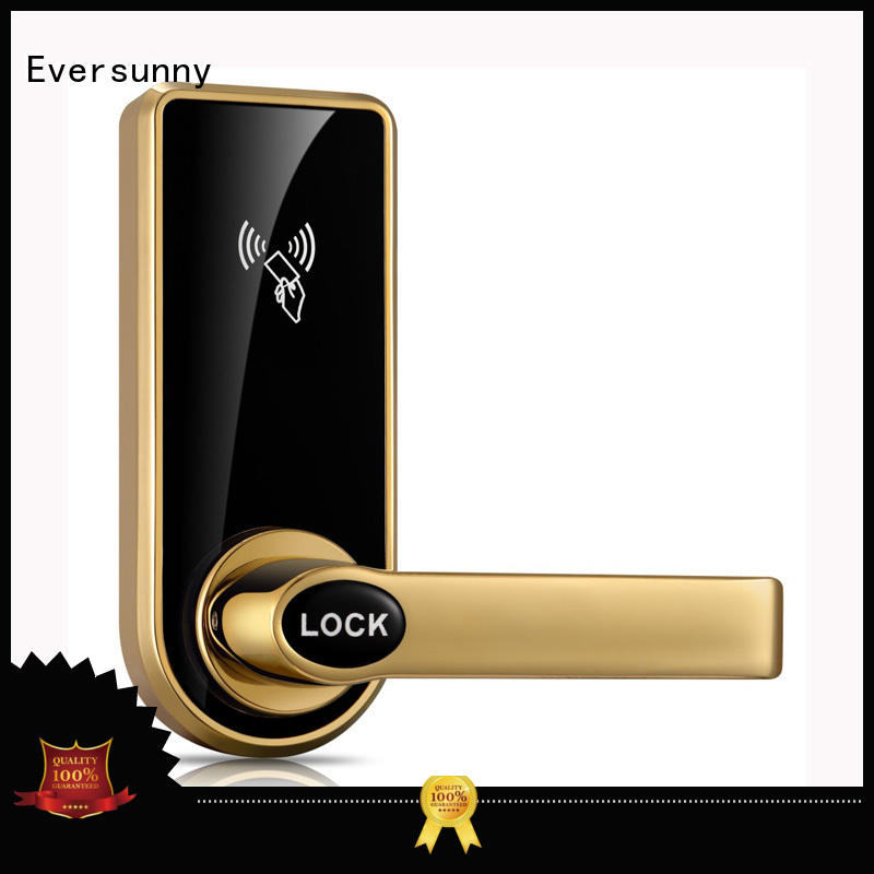 Eversunny electronic smart card door lock with central management control system for hotel