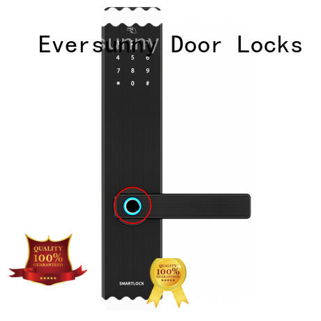 Eversunny finger scanner lock knob for apartment