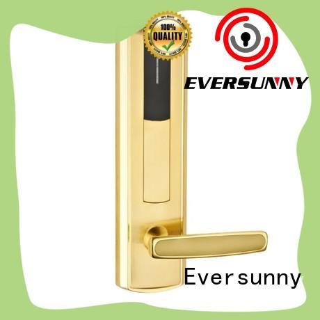 Eversunny steel door access card system stainless steel for door