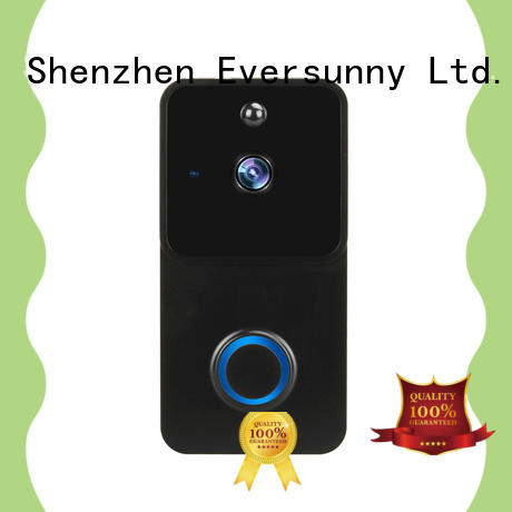 Eversunny ring wireless doorbell with central management control system for apartment