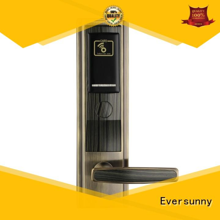 Eversunny Electronic hotel room key card system hotel smart locks for hotel