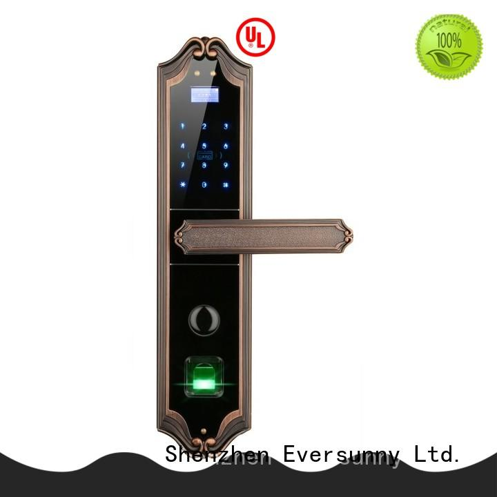 electronic door finger lock factory for office Eversunny