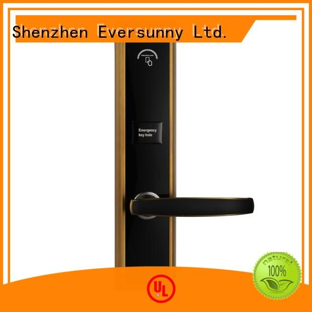 Eversunny door hotel card lock with central management control system for hotel