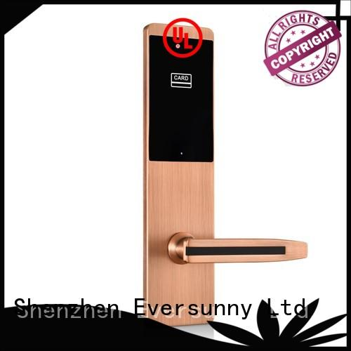 convenient card door lock system digital energy-saving for apartment