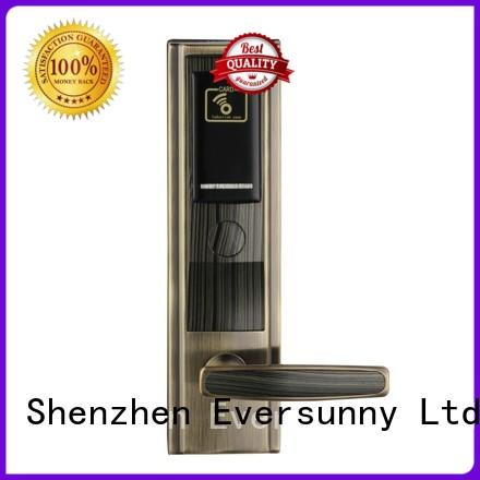 Eversunny convenient card door lock system energy-saving for hotel