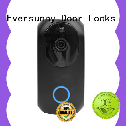 Electronic wifi video doorbell stainless steel for door