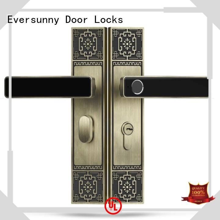 Eversunny keyless lock touch screen for apartment