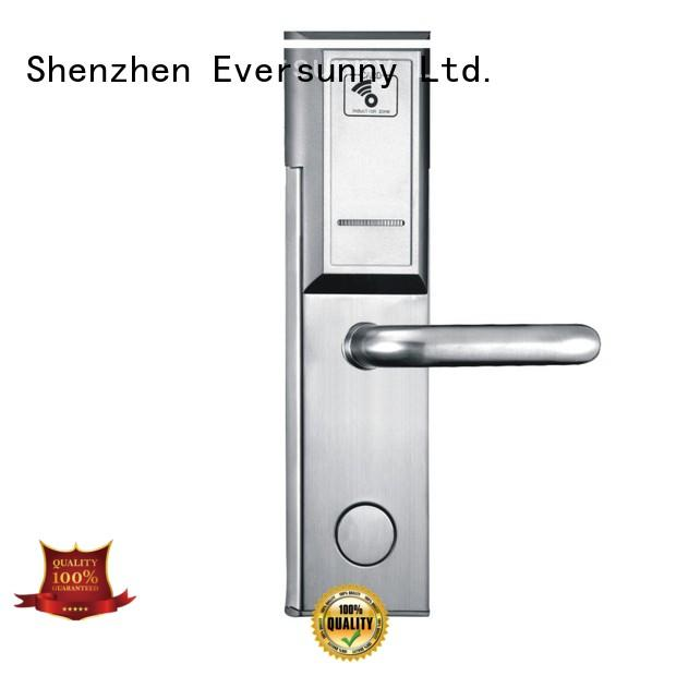 Eversunny card door lock with central management control system for hotel