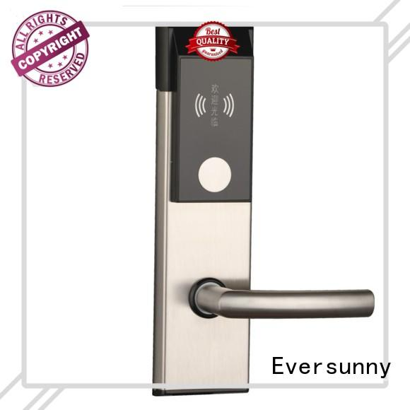 Eversunny Electronic rfid card door lock system energy-saving for home