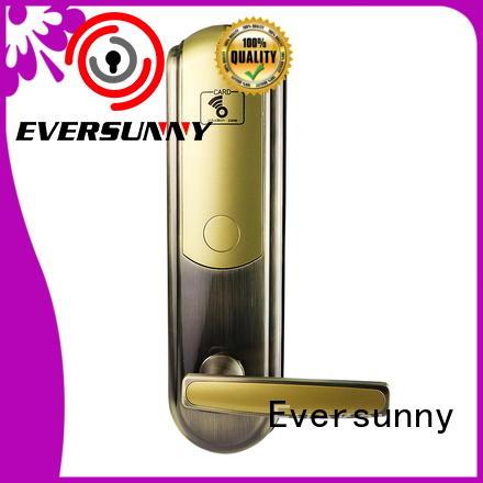 Eversunny smart hotel card key system suppliers international standard for door