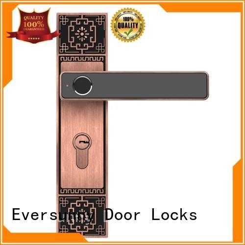Eversunny thumbprint fingerprint front door lock deadbolt