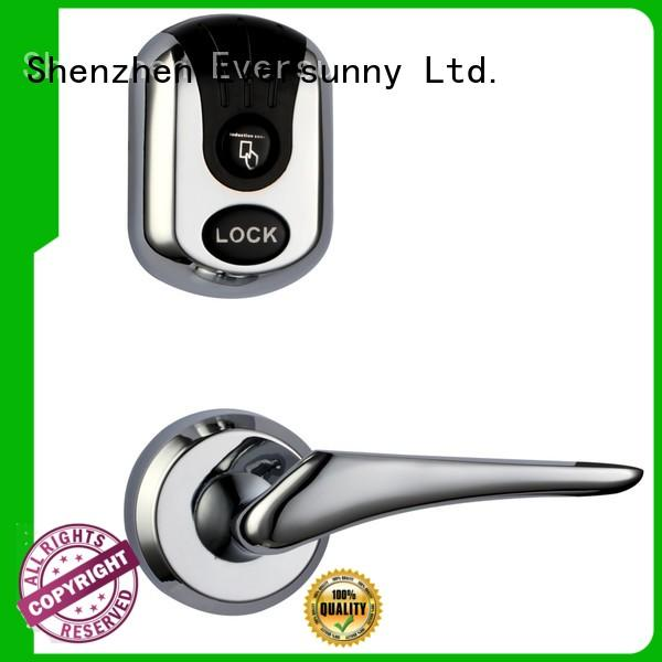 Two split types key card door lock smart cylinder with mechanic key KB710 and KB720