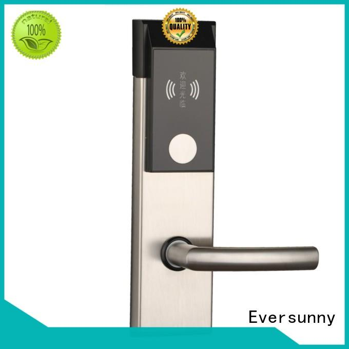 Eversunny convenient hotel card key system suppliers international standard for apartment