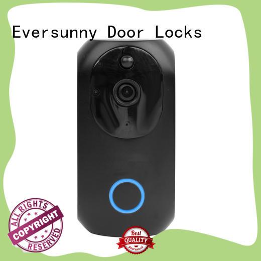 Eversunny vd13 wifi security doorbell international standard for hotel