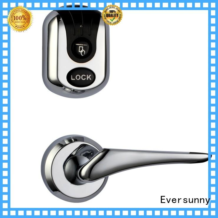 electromagnetic key card entry system hotel smart locks for home Eversunny