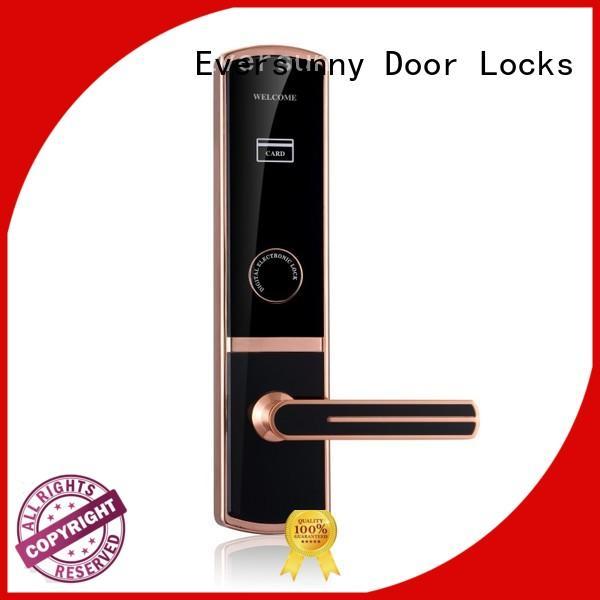 Eversunny card reader door lock hotel smart locks for apartment