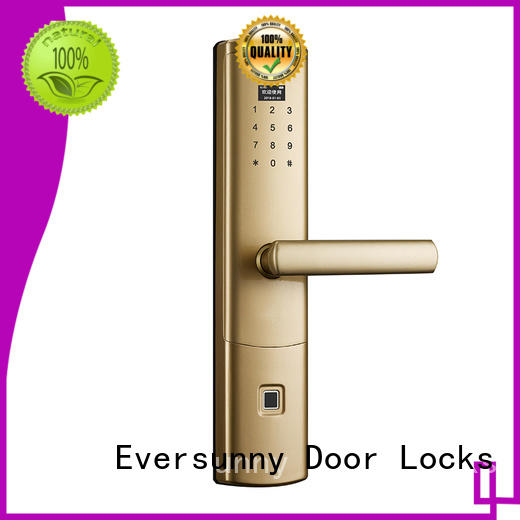 fingerprint door lock price supplier for house