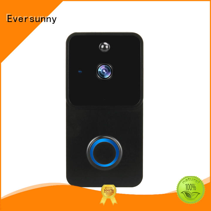 Eversunny reliable wifi video doorbell energy-saving for hotel