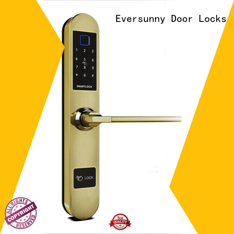 biometric door lock color supplier for house
