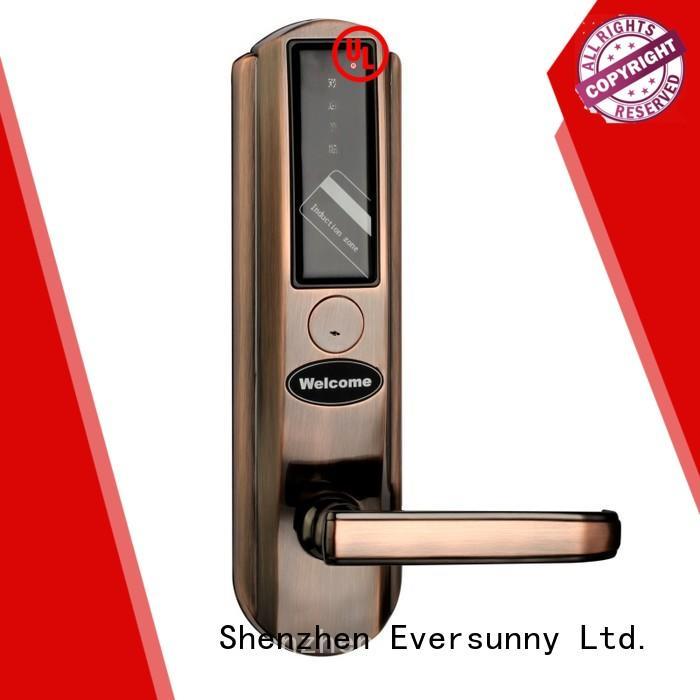 fast key card door lock price stainless steel for door