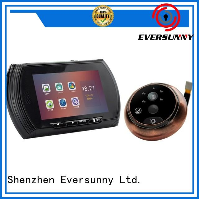 Eversunny color lcd peephole lens for apartment