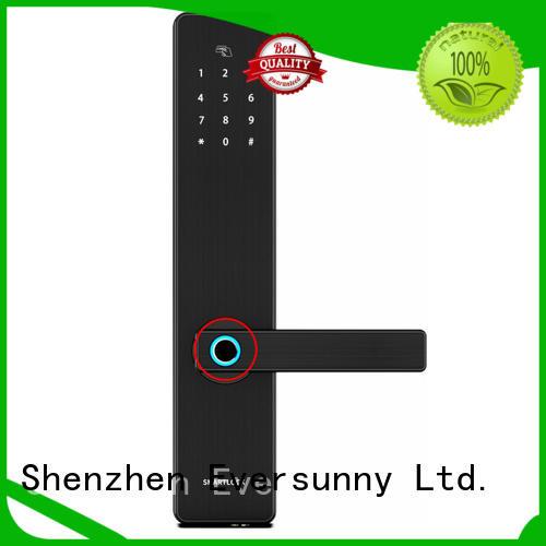 Eversunny fingerprint scanner door lock for house