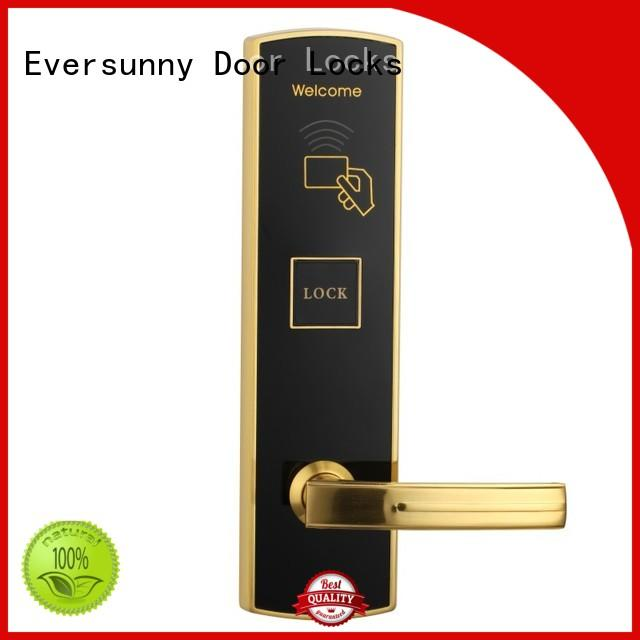 Eversunny reliable key card door entry systems energy-saving for apartment