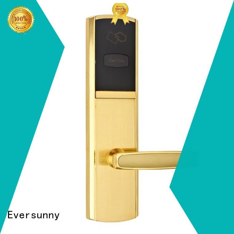 Eversunny fast rfid card door lock system international standard for hotel