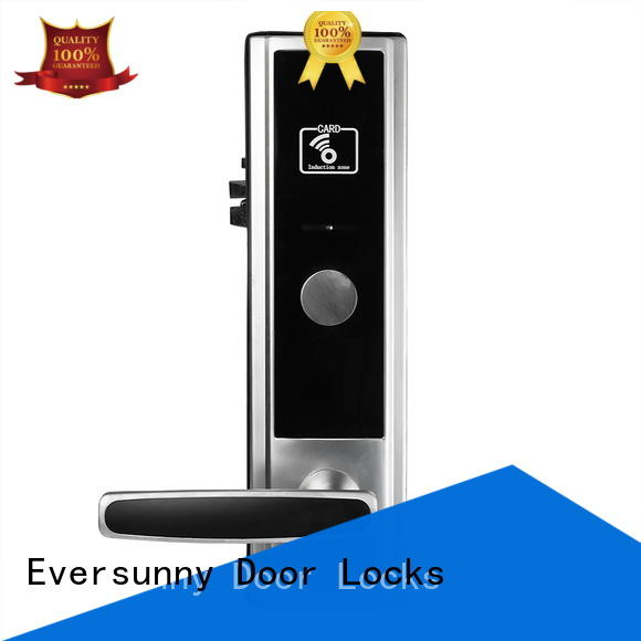 Eversunny digital card entry door locks energy-saving for home