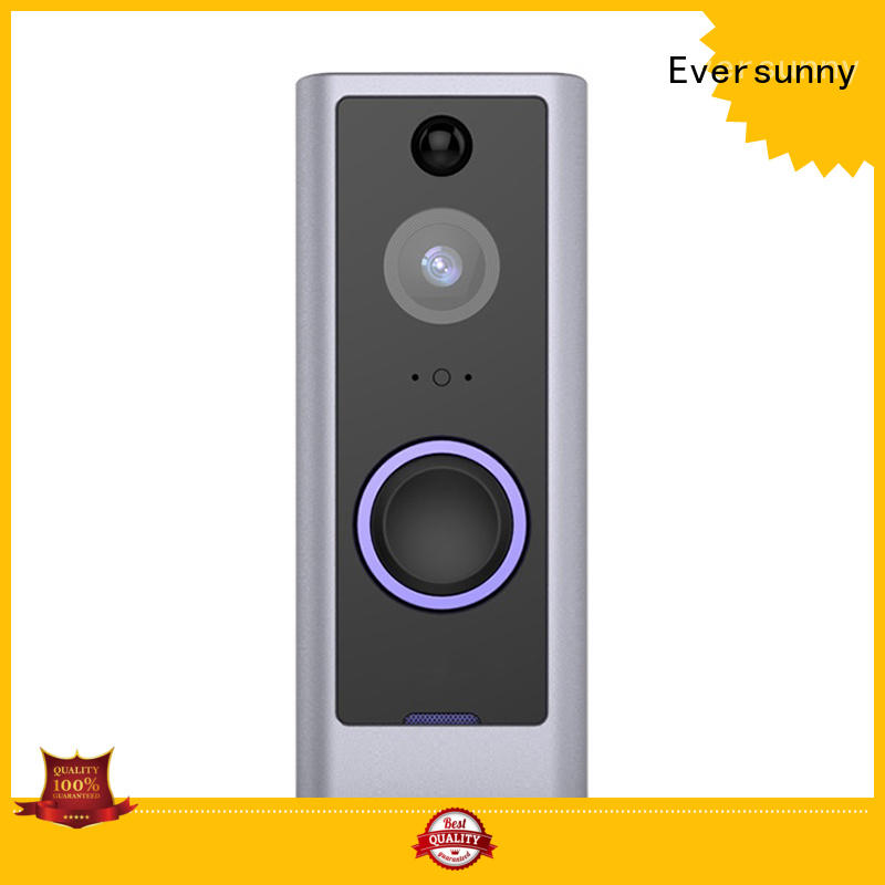 Eversunny safe wireless security doorbell with central management control system for door