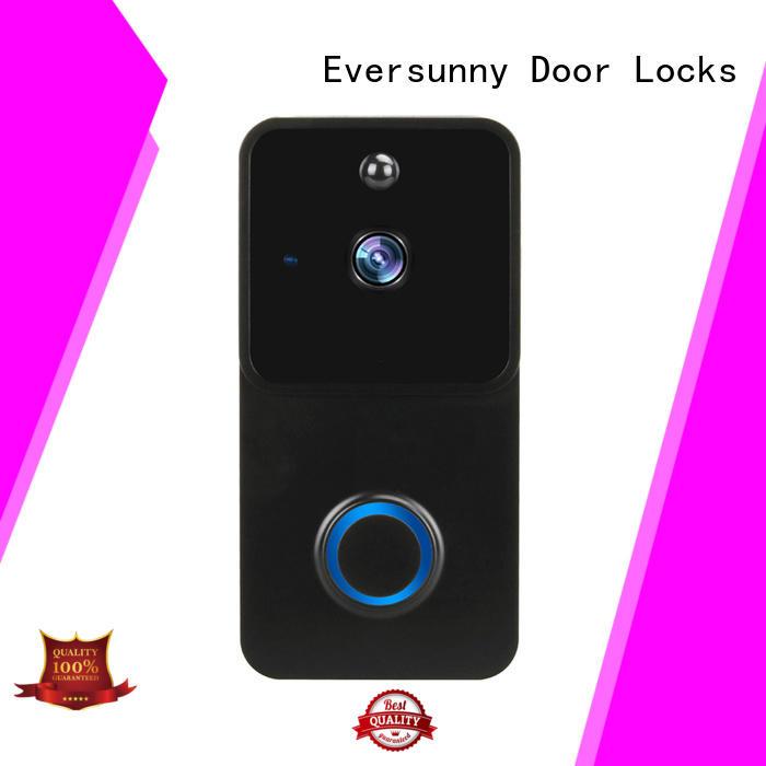 Eversunny practical ring wifi smart video doorbell energy-saving for door