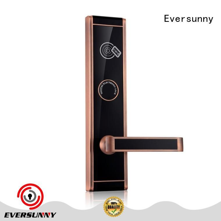 electronic smart card door lock international standard for door Eversunny