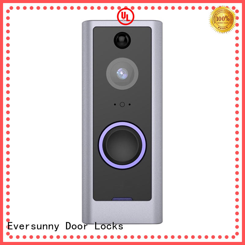 Eversunny smart ring wireless doorbell with central management control system for hotel