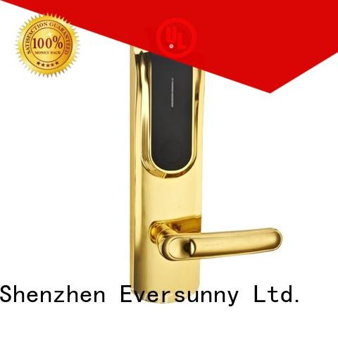 convenient magnetic card reader door lock hotel smart locks for apartment