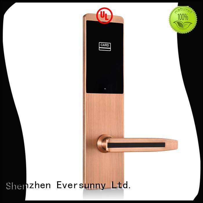 Eversunny fast card lock system hotel smart locks for apartment