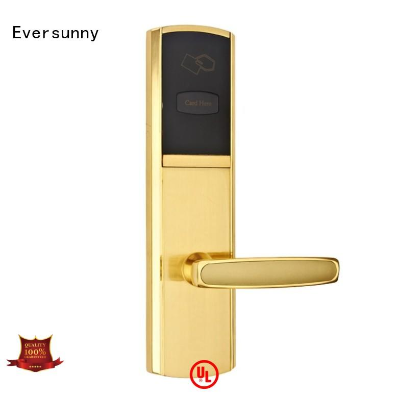 Eversunny convenient card reader door lock international standard for home