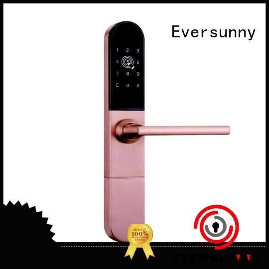 fingerprint passcode door lock energy-saving for door Eversunny