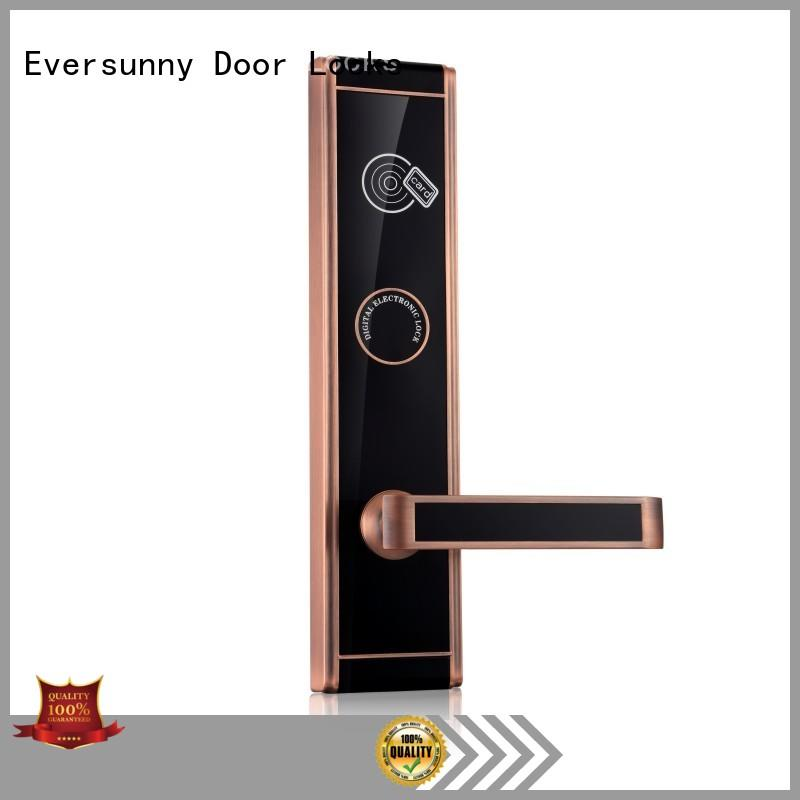 smart card access door lock system lock energy-saving for hotel