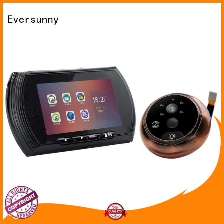 Eversunny digital motion activated digital peephole lens for office