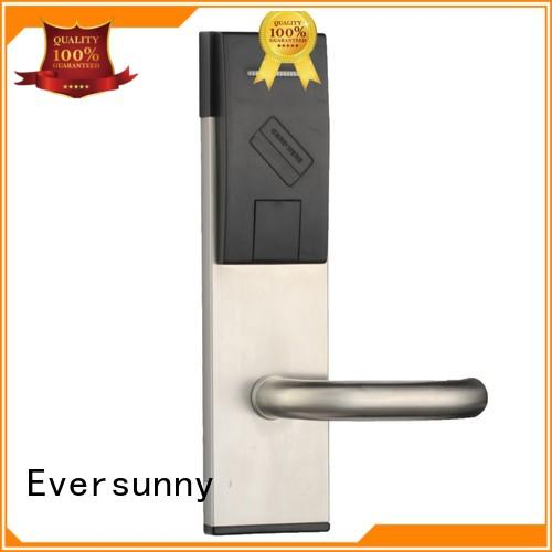Eversunny fast card access door lock system with central management control system for door