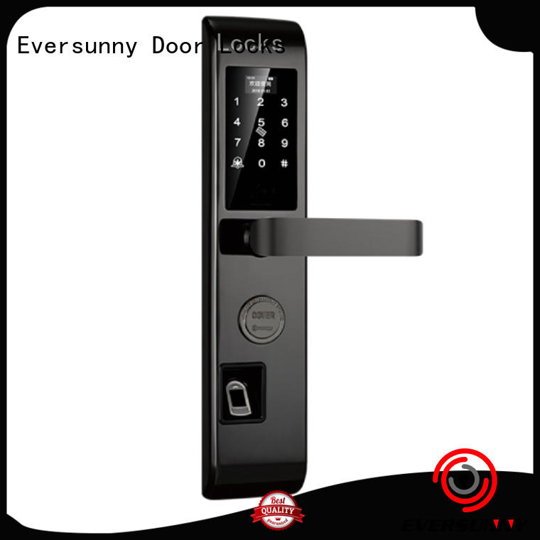 Eversunny intelligent entry door locks touch screen for office