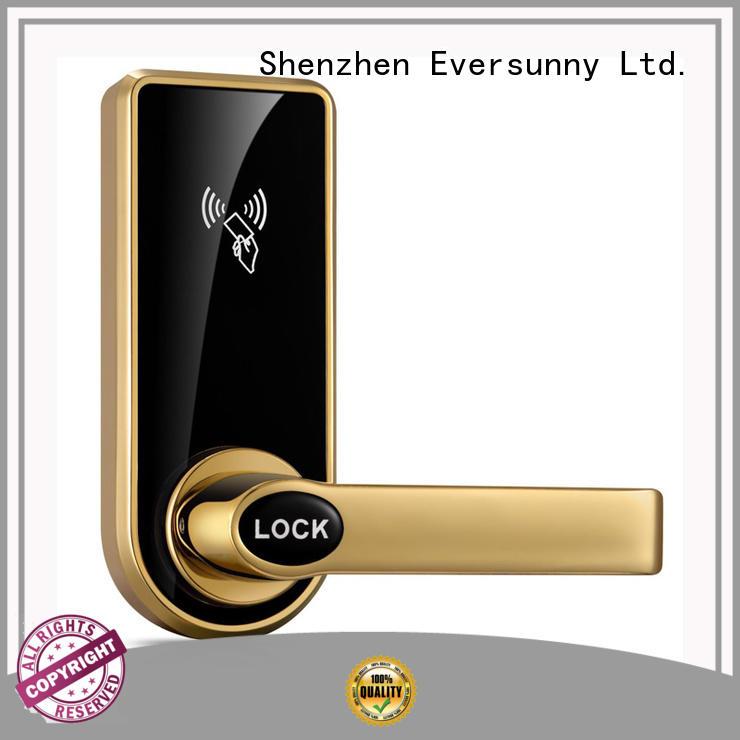 Electronic swipe card door lock lock stainless steel for door